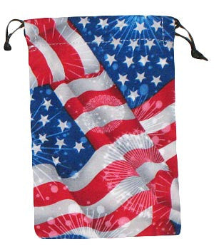4th of July Scrub Sacks