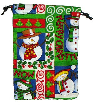 Seasons Greetings Scrub Sacks