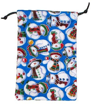 Snow Men 2 Surgical Scrub Sacks