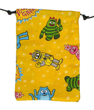 Yo Gabba Yellow Scrub Sacks