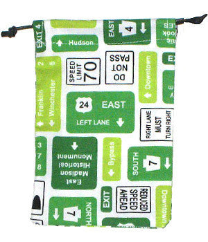 Road Signs Surgical Sacks