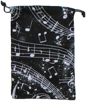 Musical Notes Surgical Scrub Sacks