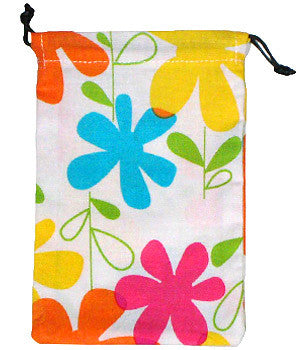 Happy Flowers Surgical Scrub Sacks