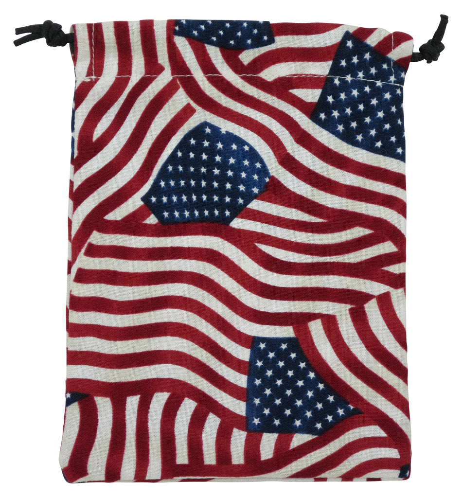 USA Flags Surgical Sacks