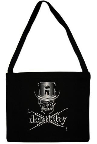 Dentistry Skull Tote Bag