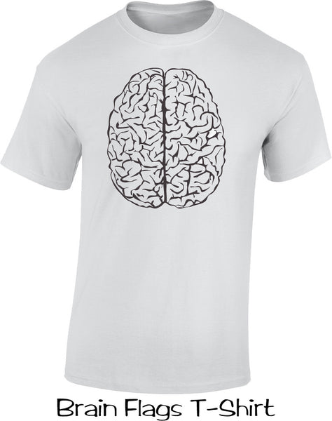 Brains Flags T Shirt