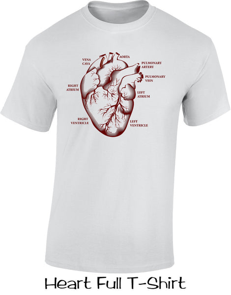 Heart Full T Shirts