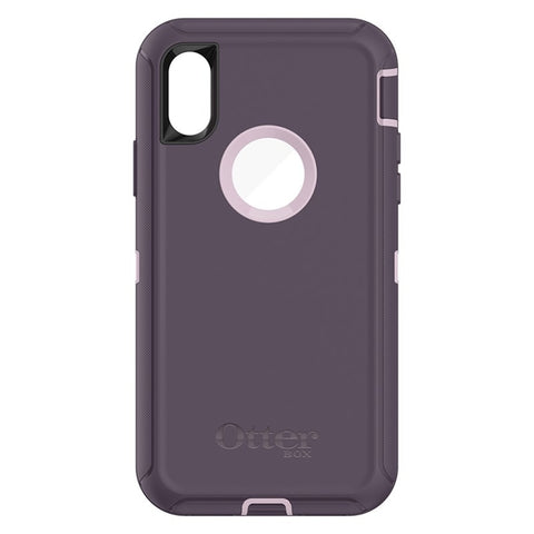 OtterBox Defender Case For iPhone X - Purple Nebula