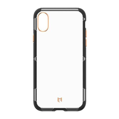 EFM Cayman D3O Case Armour For iPhone X - Crystal/Black