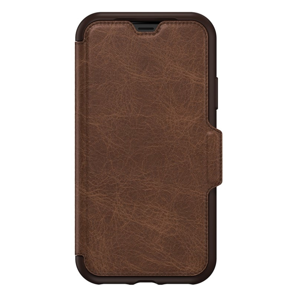OtterBox Leather Strada Case With Card Slot For iPhone Xs - Espresso