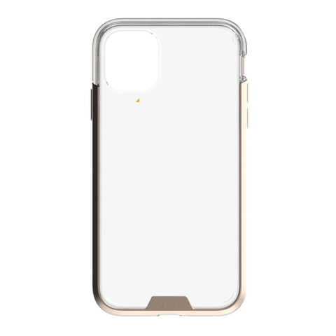 EFM Verona D3O Crystalex Case Armour For iPhone XR - Crystal/Gold