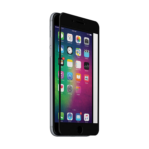 Edge to Edge Tempered Glass Screen Protector - iPhone 8 Black