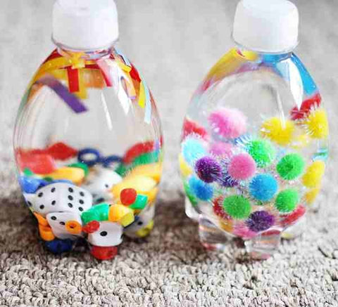 toddler relaxation sensory bottles