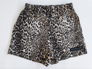 Leopard Shorties, basic short for babies & toddlers
