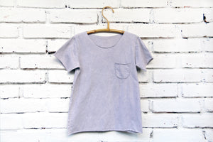 Oversized Brave & Fearless Grey Raw Edge Basic Tee Unisex T-shirt