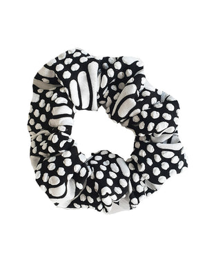 Bubble Scrunchie Girls monochrome Hair Accessory