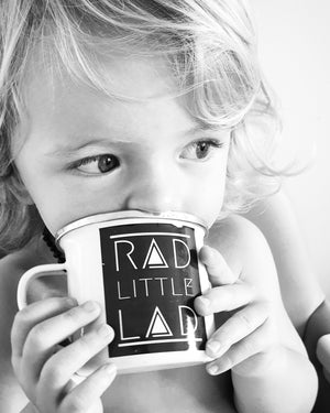 Rad Little Lad Camp Cup Mug
