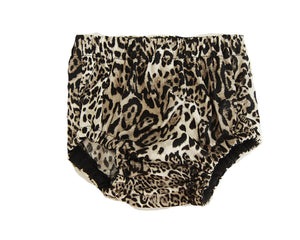 Leopard Bummers, Nappy cover for babies