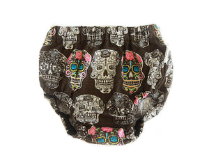Sugar Skull Bummers, Nappy cover for babies