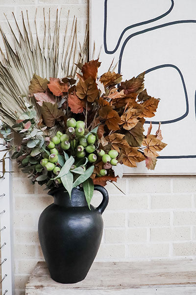 How to Create Effortless Faux Flower Arrangements