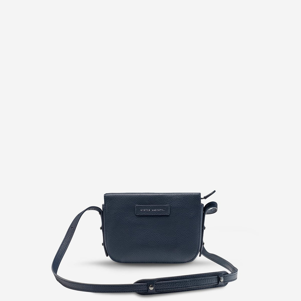 In Her Command Bag - Navy Blue