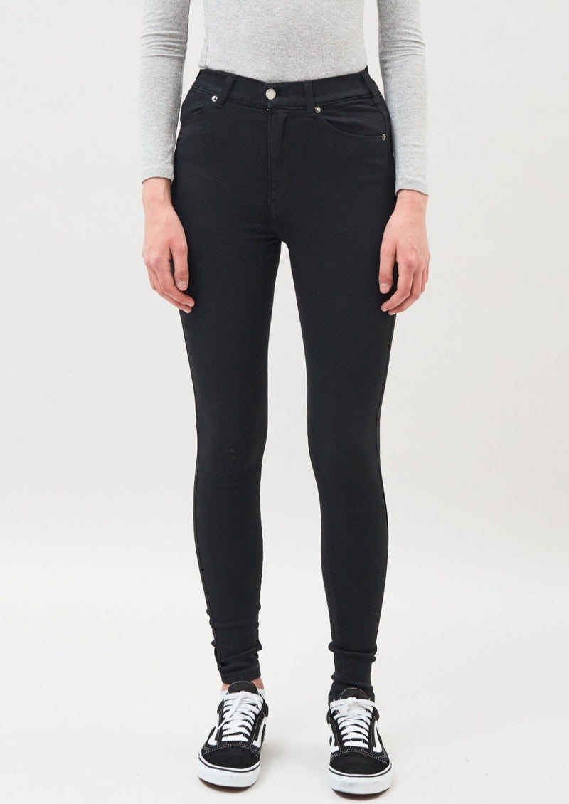 DR DENIM MOXY DENIM TIGHTS BLACK