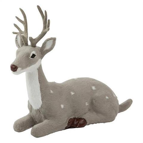 Sitting Reindeer Grey
