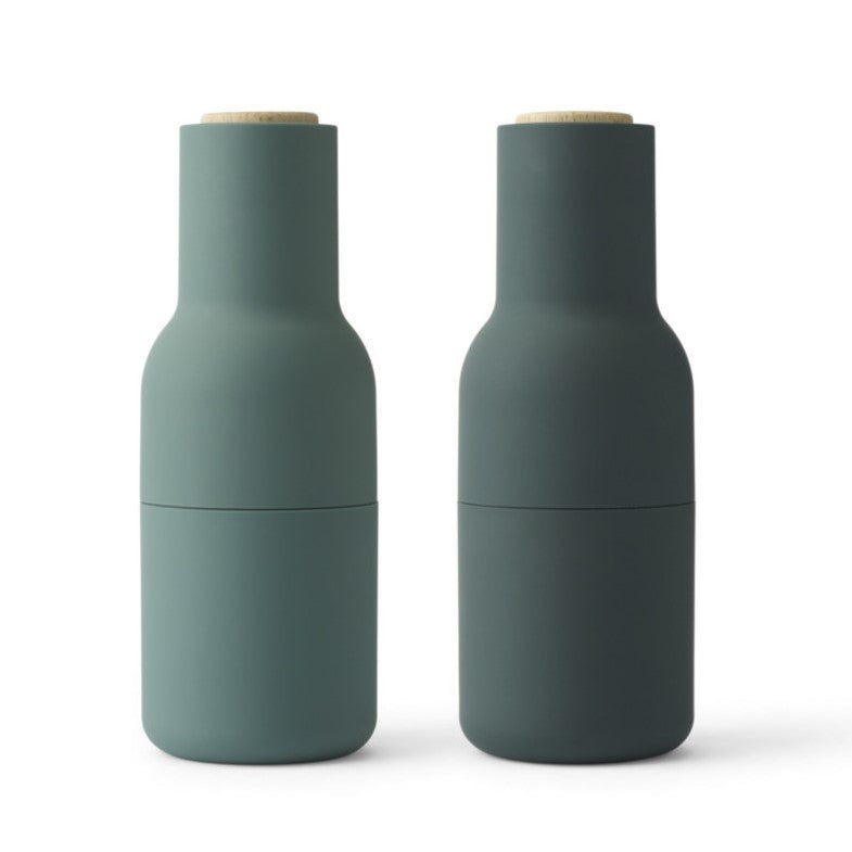 Bottle Grinders Dark Greens SET 2 by Menu