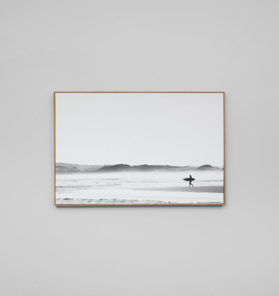 'Morning Surf' Framed Canvas