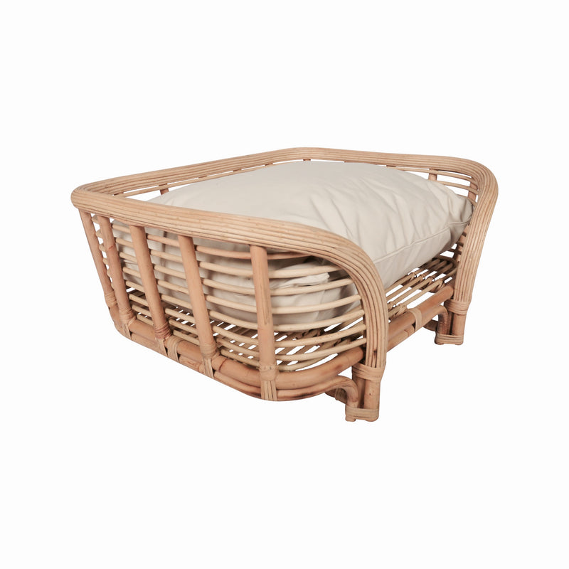Zoey Mini Daybed in Natural w/Cushion