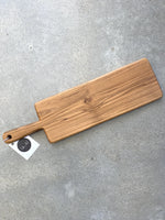 Teak Cheese Paddle Small