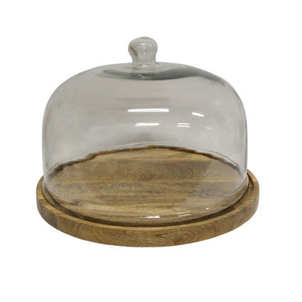 Ploughmans Cake Board with Dome