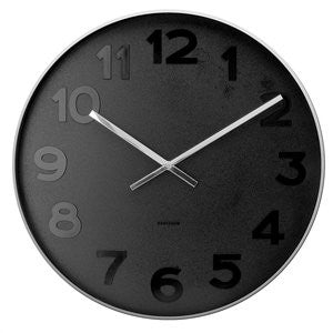 Mr Black Wall Clock