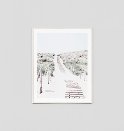 'Beach Path' Framed Print