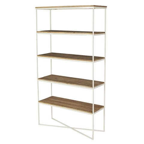 Natural White Flinders Bookcase
