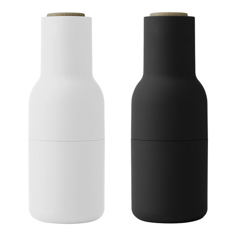 Bottle Grinders Ash and Carbon SET2 by Menu