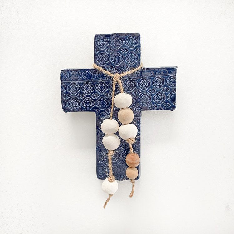 Handmade Moroccan Cross Medium