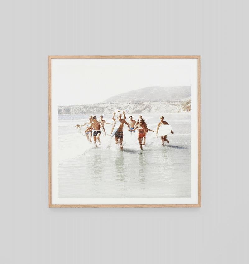 'California Vacation' Framed Print