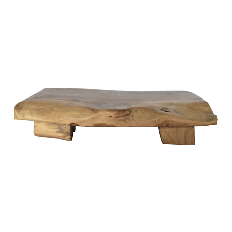 Natural Teak Short Bench
