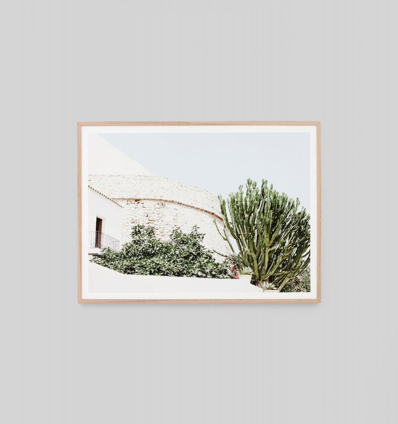 'Summer Villa' Framed Print