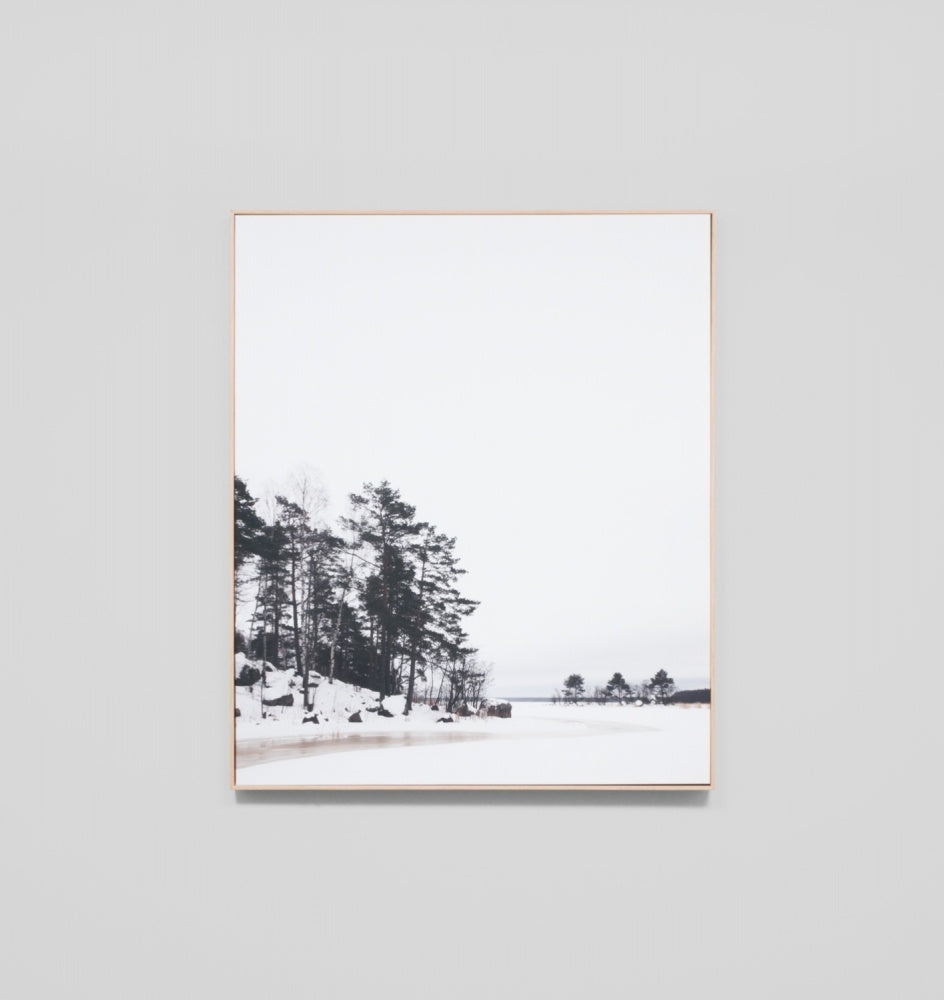 'Baltic Winter' Framed Canvas