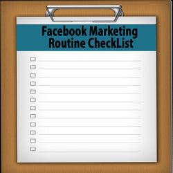 Facebook Marketing Routine CheckList