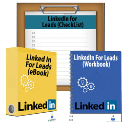 LinkedIn for Leads Bundle (eBook, Workbook & CheckList)