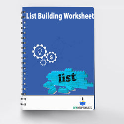 List Building Worksheet