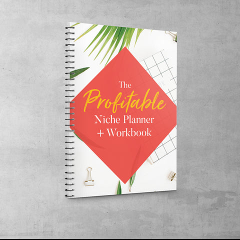 (Personal Use) PLANNER: THE PROFITABLE NICHE PLANNER WORKBOOK + TRAINING VIDEO