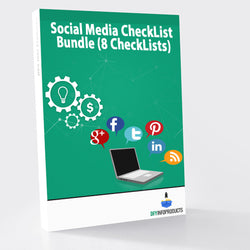Social Media CheckList Bundle (8 CheckLists)