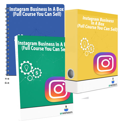 Instagram Business In A Box (Full Course You Can Sell)