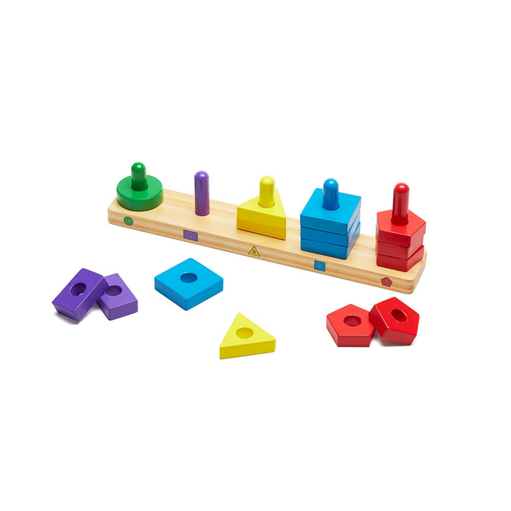 Melissa and Doug: Stack and Sort Board