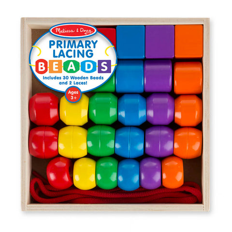 Melissa and Doug: Primary Lacing Beads