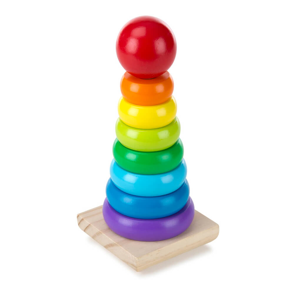Melissa and Doug: Rainbow Stacker